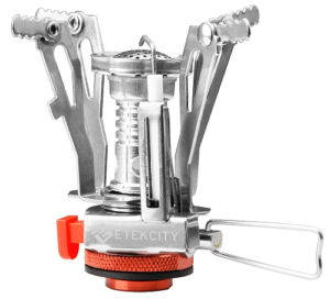 Etekcity Ultralight Portable Outdoor Backpacking Camping Stoves with Piezo Ignition
