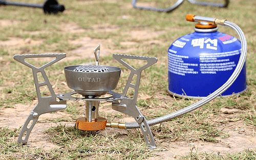 OUTAD Windproof Foldable Camping Stove