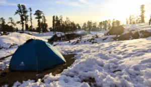How to find the right winter campsite