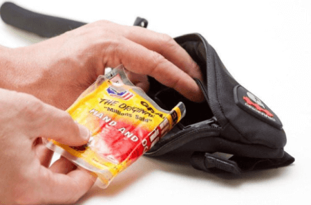 Keeping hydration pack warm with Giegerrig Insulated Tube Garage