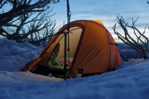 Difference between summer and winter tent