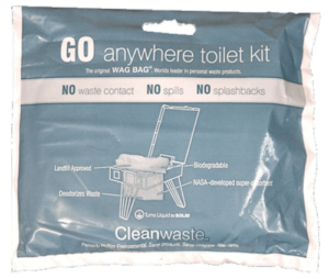 Wag Bag - Go anywhere toilet kit for camping
