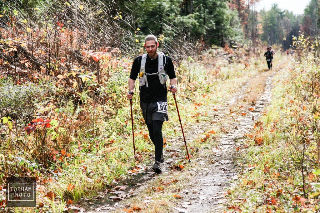 Racing Ghost Train Rail Trail Race in New Hampshire