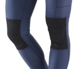Leggings with reinforced knees