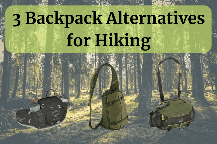 Backpack alternatives for hiking