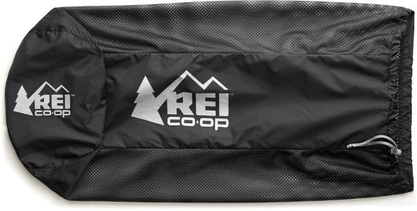 REI sleeping bag storage sack