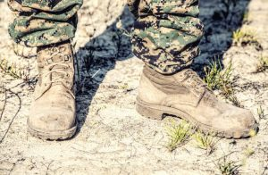 Hiking in Combat Boots