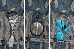 What are bungees for on backpacks
