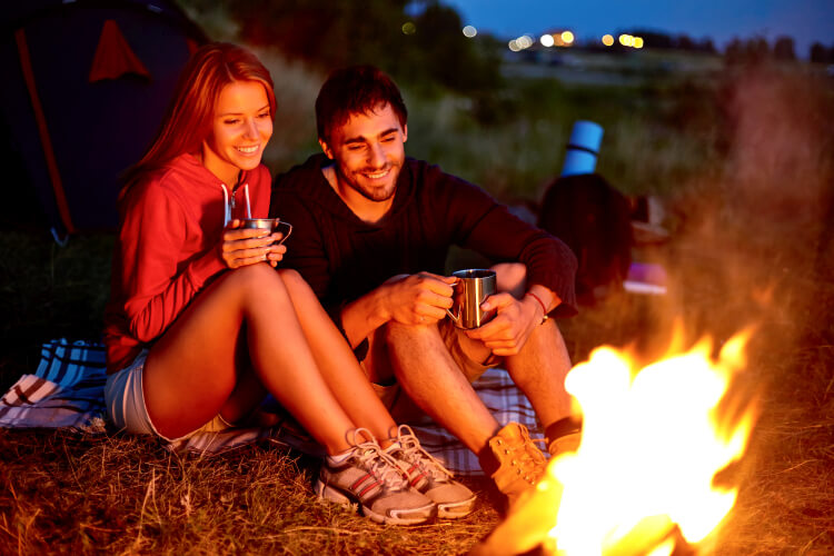 What to wear camping with boyfriend