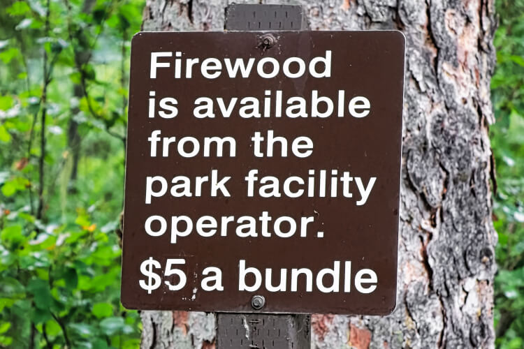 price of bundle of firewood